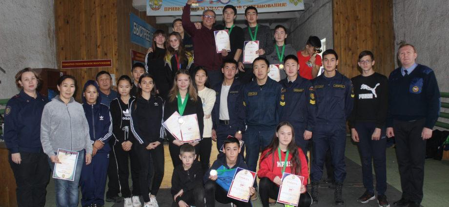 Призеры и чемпионы Открытого первенства по пожарно–спасательному спорту